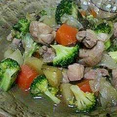 野菜たっぷり~~優しい味の鶏肉の煮物