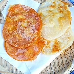 小麦粉とチーズで作る紅白ジョン