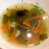 人参とわかめのスープ