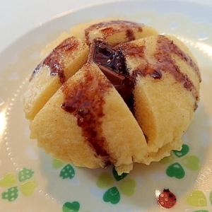 手軽な食材でふわふわ「蒸しパン」