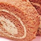 フライパンで簡単★チョコロールケーキ