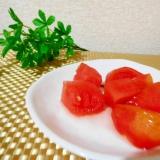 スイカとはちみつレモントマトの小鉢