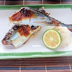 ご飯とぴったり☆さんまの塩麹焼