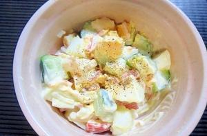 カニカマの卵サラダ