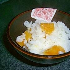 簡単炊飯器で芋ご飯