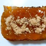 梅ジャムきな粉トースト