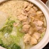 白菜の鍋。具材は何でも。美味しくなるコツ