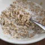 腸のお掃除★オートミールのココナッツミルク煮