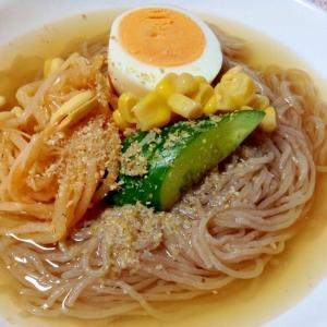 市販の韓国冷麺を美味しく♪