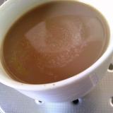 生クリームで濃厚カフェオレ