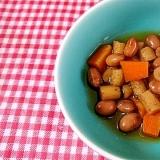 節分豆でふっくら煮もの!