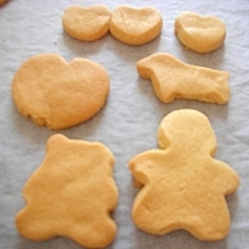 HMで簡単!クッキー