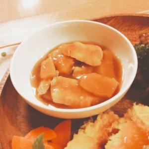 かぼちゃと鶏むねの中華煮【90kcal脂1.0g】