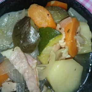 夏野菜のポトフ(灬¯︶¯灬)