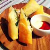 【お手軽★簡単】マッシュポテト大葉チーズの春巻き