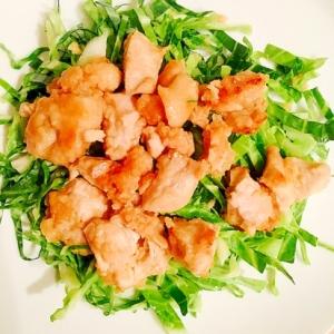 胸肉のマヨ酢醤油焼き