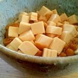 なめこと豆腐のしょうゆ麹和え