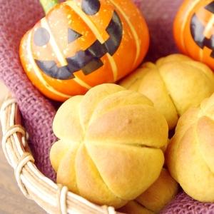 かぼちゃパウダーで簡単かぼちゃパン