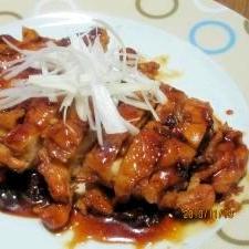 鶏肉の照り煮 (我が家の味)