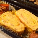 カルシウムたっぷり*しらすとチーズの卵焼き