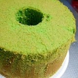 しっとり♥ほうれん草のシフォンケーキ