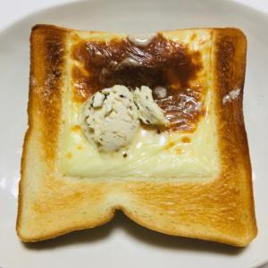 バターレーズンチーズトースト