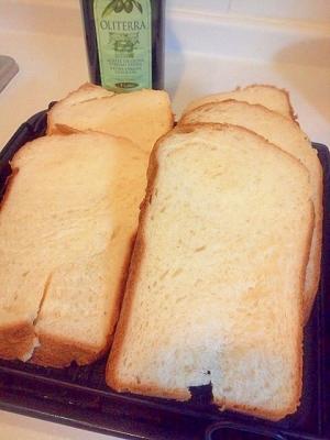 フォッカッチャ食パン(ホームベーカリー)