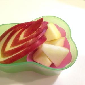 りんごの飾り切り♪