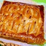 リンゴは煮ません!簡単アップルパイ