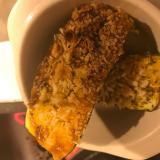 ズッキーニのマヨパン粉焼き!