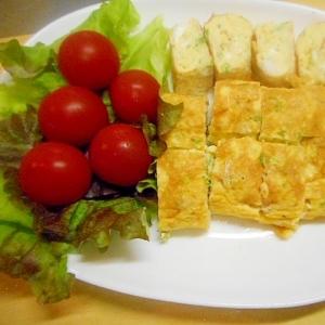 ☆しらす・パセリ・チーズの卵焼き☆