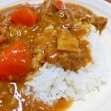牛すじカレー(圧力鍋使用)