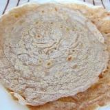 [お手伝いレシピ]ライ麦粉の薄焼き