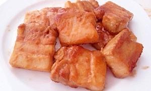 ご飯が進む豚バラブロックの照り焼き
