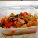 冷凍野菜で作る根菜の煮物