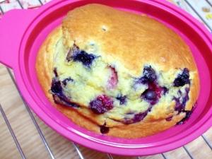 HMで♪簡単ブルーベリーケーキ