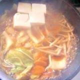 豆腐チゲ鍋!!