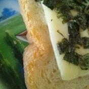 磯辺チーズトースト♪