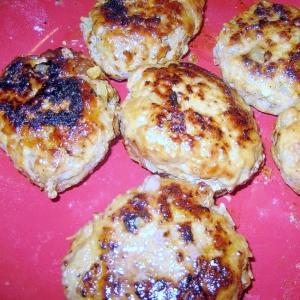 塩麹のハンバーグ