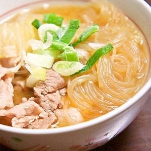 いつもと違う!食べ応えありの味噌スープ(*´∇`)