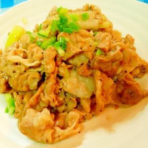 ご飯がすすむ☆豚肉のニンニク生姜炒め