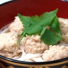 鶏つくねのあったか純米めん