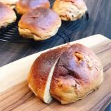 香ばしいふすまクルミパン