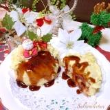 ポテトサラダで♪お好み焼きクリスマスケーキ