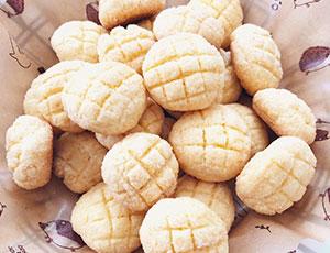 HMで簡単★メロンパンクッキー